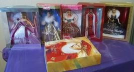 Bob Mackie Holiday Barbies, Jewel Princess,Winters Eve,Golden Waltz, 6 D... - $65.99