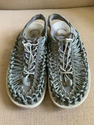 KEEN Uneek Gray Woven Slingback Sport Sandals Womens US 11 EUR 42 image 2