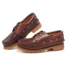 Timberland 3 Eye Handsewn Classic Lug 5009 Leather Shoes Men - £104.26 GBP