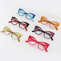 JASPEER  Retro Cat Eye Glasses Frame Women Brand Designer Vintage Eye Glasses Fr image 6