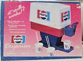 Pepsi Cola Soda Dispenser with original illustrated unopened box 1960's-... - $85.00