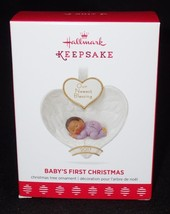 Hallmark Keepsake 2017 Baby's First Christmas African American Ornament QSM7795 - $11.26