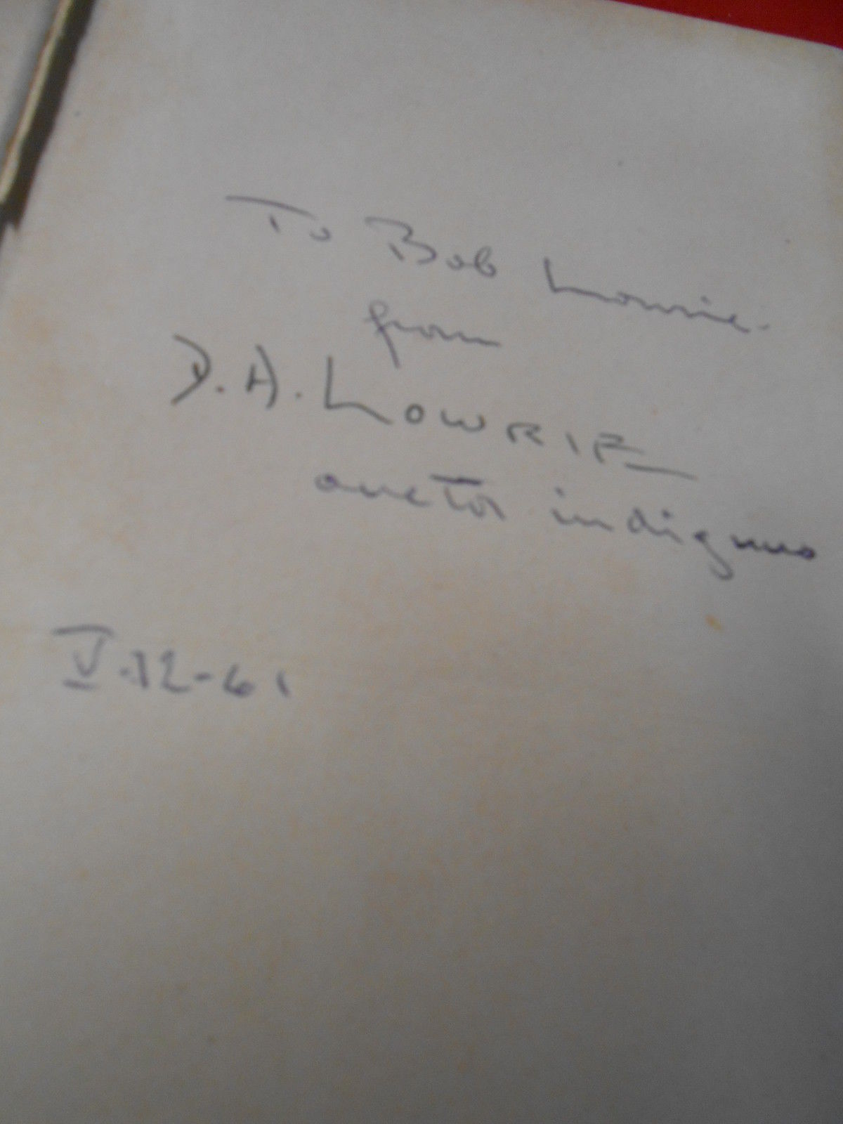 Antique Book-1923 THE LIGHT OF RUSSIA  Donald A. Lowrie w/ Autograph Inscription image 2