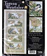 "Leisure Arts Teresa Wentzler ""Birdhouses"" Cross Stitch Kit - $59.99"