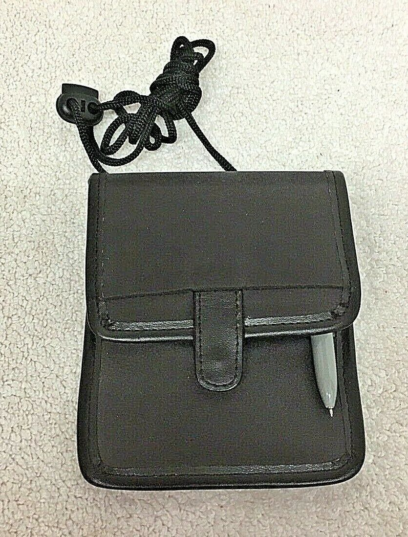 Primary image for New Travelon Passport Wall w/ Neck Hanger Cord Brown Tone T42