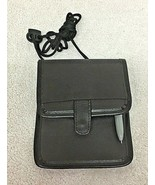 New Travelon Passport Wall w/ Neck Hanger Cord Brown Tone T42 - $18.32