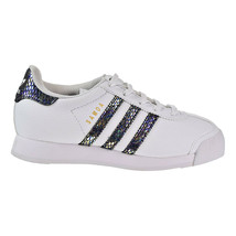 Adidas Samoa C Snake Little Kid's Shoes White-Black-Noiess BW1299 - £28.07 GBP