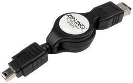 Cables Unlimited ZIP-1394-C07 ZipLinq Retractable 6-Pin to 4-Pin Firewir... - $4.89