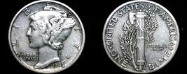 1943-P Mercury Dime Silver - $6.99