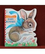 Baby Bunnies   A Sturdi-Contour Book 1966 Board Book Childrens - $8.44