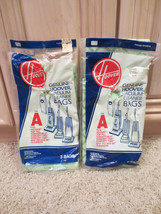 5 Type A Hoover Vacuum Cleaner Bags, Vintage New - $15.59