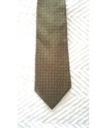 """Lauren Ralph Lauren  Mens Tie 100% Silk Olive Green Paisley length 58"""" w... - $8.88"""