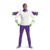 Disguise Toy Story Buzz Lightyear Woody Andy Adult Kit Halloween Costume... - $21.29