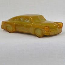 Boyds Crystal Art Glass 1948 Tucker Torpedo Car #5 Dijon, Mustard Glass, Slag Gl - $45.00
