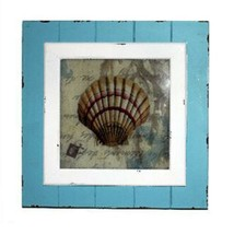 Mediterranean Style Wall Hanging Decoration shell - $71.00