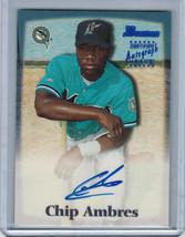 2000 Bowman Chip Ambres Autograph #Ca (4333) - $2.70