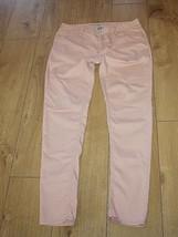 Superb Creamy Cotton DENIM & CO Zip Low Rise Jeans Trousers Size 14 / 42... - $26.24
