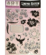 Art Warehouse Limited Edition Summer Vibe Stamp Set #LE7794 - $13.45