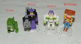 New Disney Crossy Road Toy Story You Pick Woody Buzz Lightyear Zurg Rex ... - $1.49