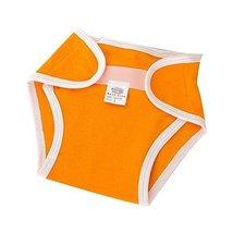 Washable Adjustable Orange Cotton Infant Baby Diapers