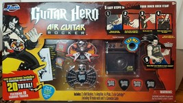 Guitar Hero Air Guitar Rocker Value Pack 2 belt buckles 20 Songs Jada Op... - $114.35