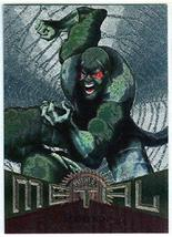 Fleer Marvel Metal #76 SCORPION Silver Parallel Chase Card - $2.93