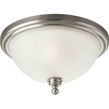 Progress Lighting Madison Collection 2-Light Brushed Nickel Flushmount P... - €40,69 EUR