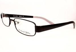 Michael Stars Eyeglasses Spirited Girly Black Women 50-16-130 New Frame Designer - $89.09