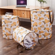 FULLLOVE® Dirty Clothes Laundry Basket Oxford Lemon Printed Basket - $20.66+