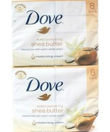 2 Packages Dove Purely Pampering Shea Butter Warm Vanilla 8 Count Beauty... - $44.99