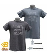 Built Ford Tough Distressed Logo Denim T-Shirt - $19.95
