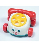 McDONALDS FISHER PRICE MINI CLASSIC CHATTER PHONE HAPPY MEAL TOY 1996 - £3.81 GBP