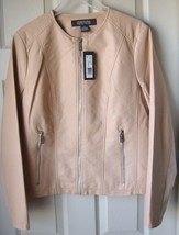 New Kenneth Cole Reaction Women's Faux Leather Moto Jackets Variety Colo... - $54.99