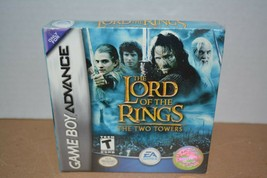 New Sealed Lord of the Rings The Two Towers Nintendo Game Boy Advance 2002 - $24.74