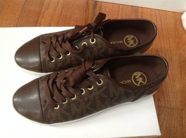 New Michael Michael Kors Women's City Sneaker Mk Signature Size 8 Nib - $79.19