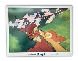 """Bambi"" Original 11x14 Authentic Lobby Card Poster Photo 1982 Walt Disne... - $33.96"