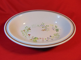 """10 3/4"""" Oval Vegetable Bowl, from Royal Albert, in the Bitter Sweet Pattern - $11.99"""