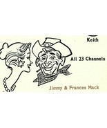 Vintage QSL Postcard  KOV 2063 Dallas, Texas  Jimmy & Frances, Jerry, Ke... - $24.75