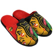 NHL Split Color Slide Slippers by Forever Collectibles Select Team & Size Below - $20.95+