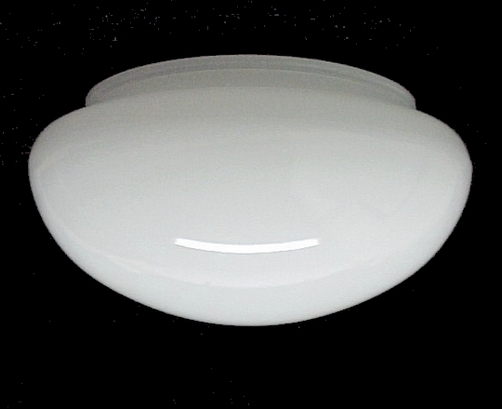 51624a small white pan light shade