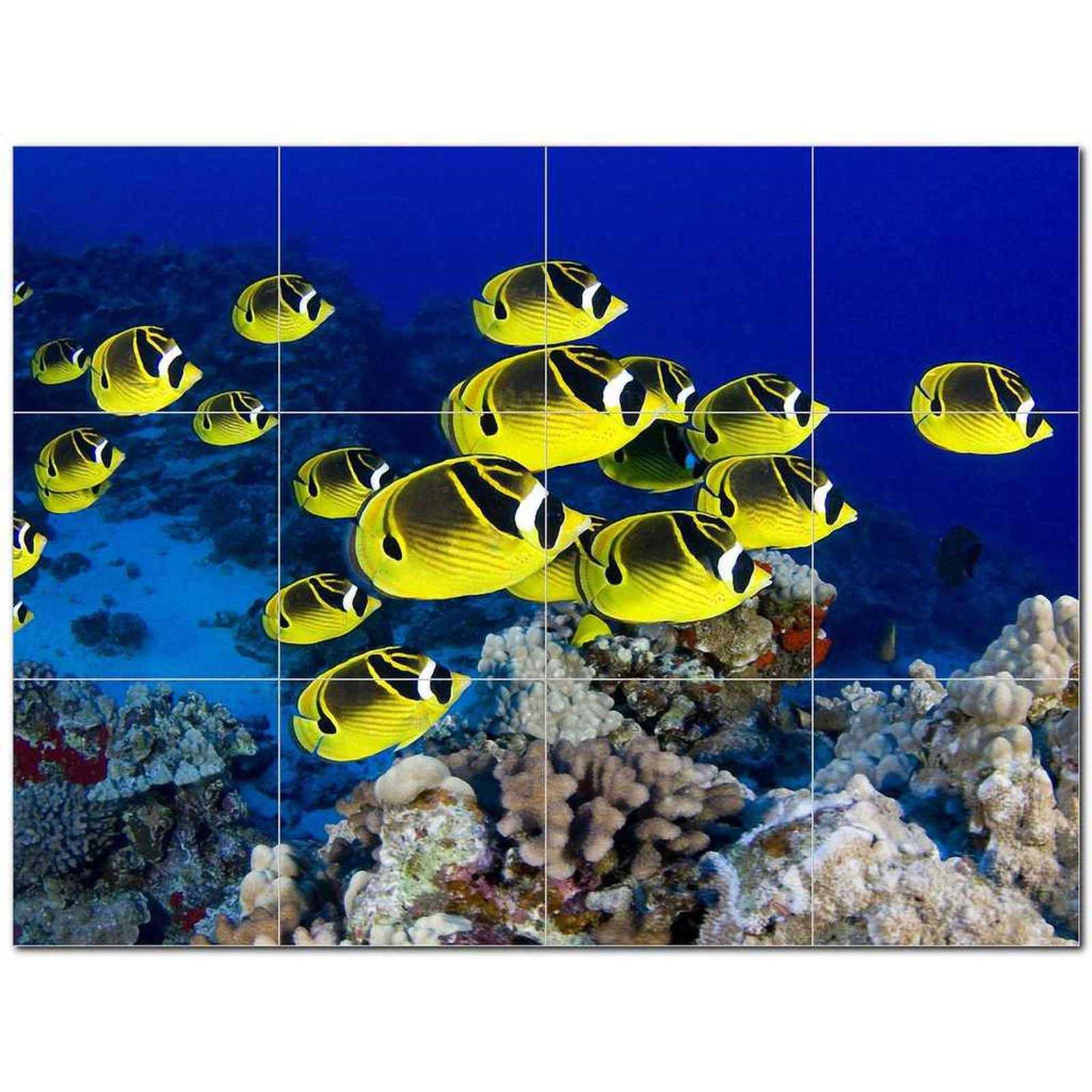 Primary image for Sealife Photo Ceramic Tile Mural Kitchen Backsplash Bathroom Shower BAZ405795