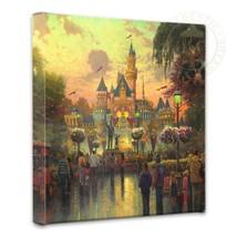 Disneyland 50th Anniversary Thomas Kinkade Disn... - $89.00