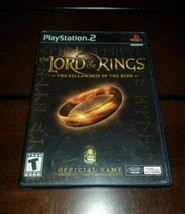 Lord of the Ring The Fellowship of the Ring Black Label PS2 EXMT **Inv03093** image 1