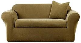 SureFit Stretch Metro 2-Piece - Chair Slipcover - Brown - $39.97
