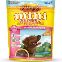 Zuke's Mini Naturals Moist Miniature Treat for Dogs Roasted Pork 6 oz. - $5.79