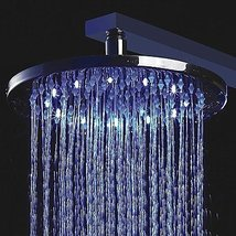 Arctic 10 inch Color Changing LED Shower Head with Circle LED Light - $116.80