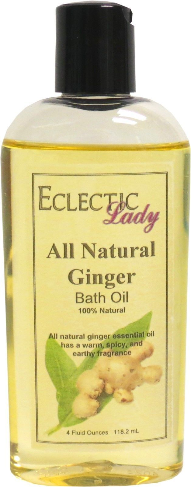Ginger All Natural Bath Oil