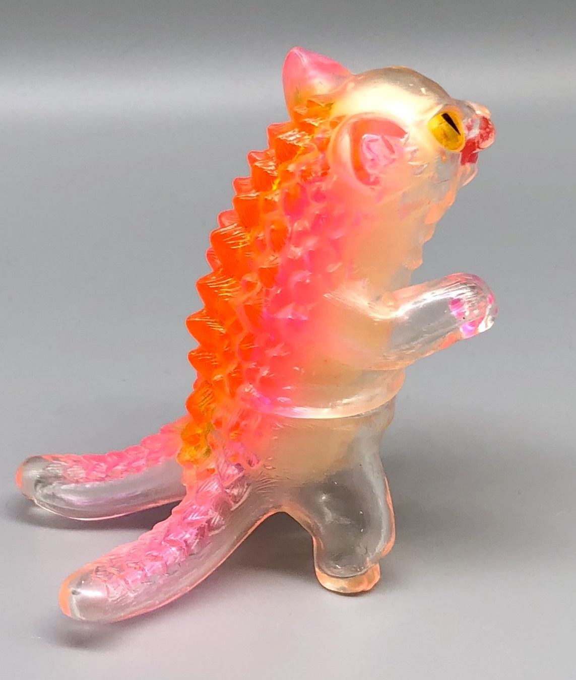 Max Toy Clear Negora w/ Pink Spine Rare