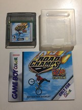 Road Champs Nintendo Game Boy Color Vintage 1998 Game Cartridge Case Manual - $9.89