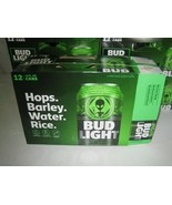 BUD LIGHT ALIEN AREA 51 12 PACK EMPTY BOX LIMITED EDITION BRAND NEW - $25.00
